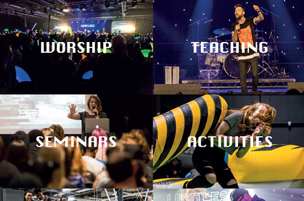 The Elim movements yearly Christian youth conference