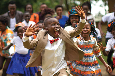 The Watoto Children's choir will be performing near our church