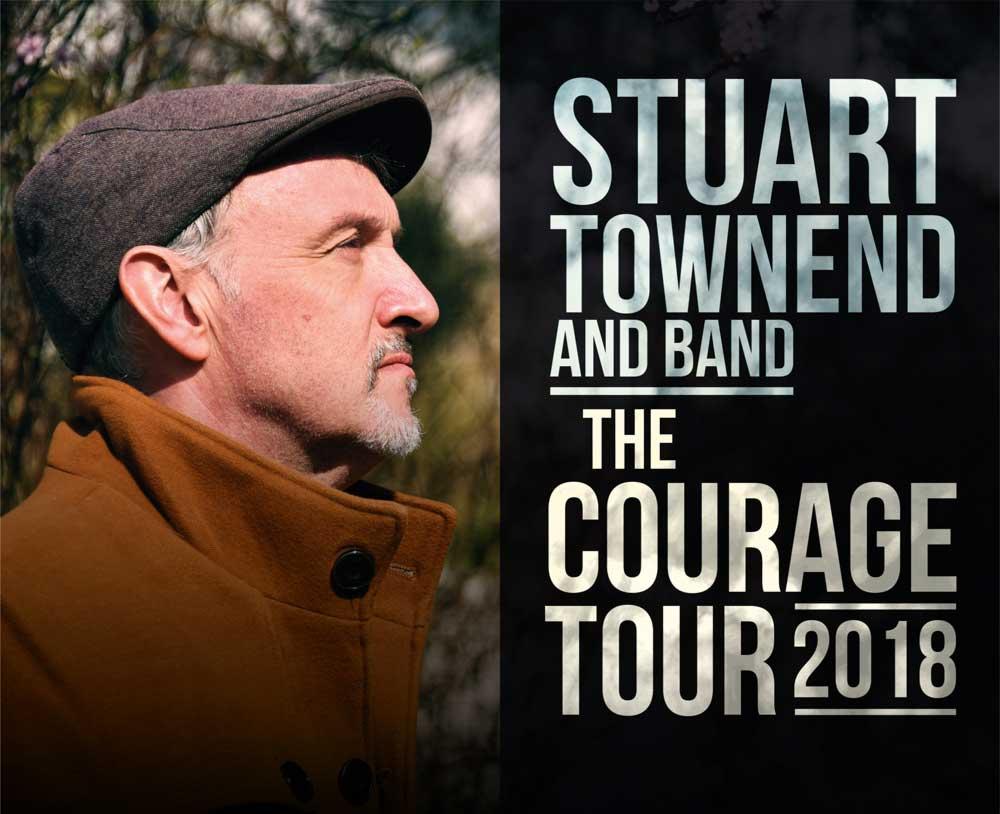 Stuart Townend Courage Tour poster