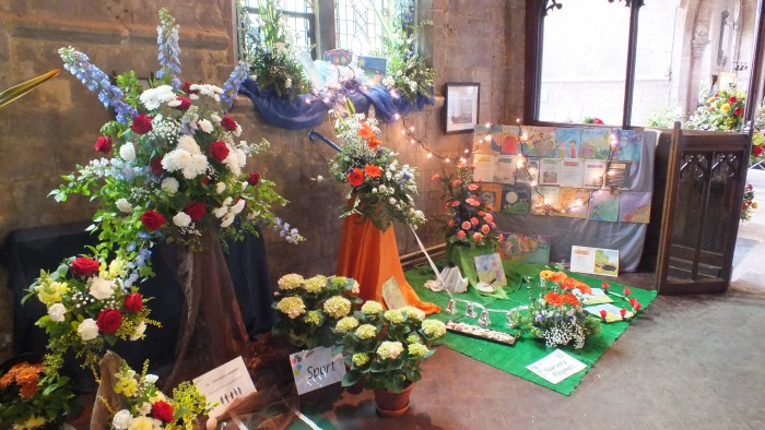 Lady Chapel displays