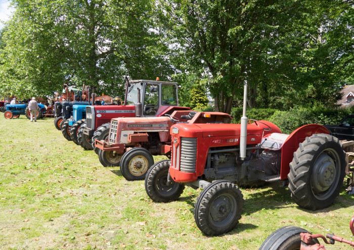 Tractors of yesteryear