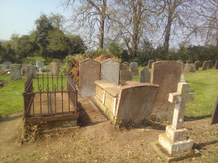 Graves that have not been uncovered for years that look brand new.
