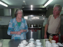 Dawn and Roy who are our regular cooks