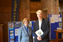 Rev Alison Newman with Jo Johnson MP
