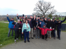 13 April: The walking group on Blythe Hill (Catford / Forest Hill borders)