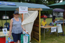 Our Toilet Twinning themed stand at the Biggin Hill Festival 6 July