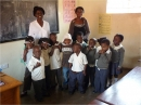 Local children in school