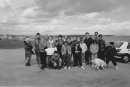 The walking group at Seafield, Kirkcaldy around 1990.