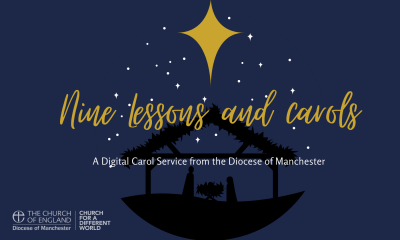 Open Join us for Nine Lessons and Carols online