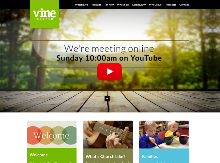 Vine Church Website
