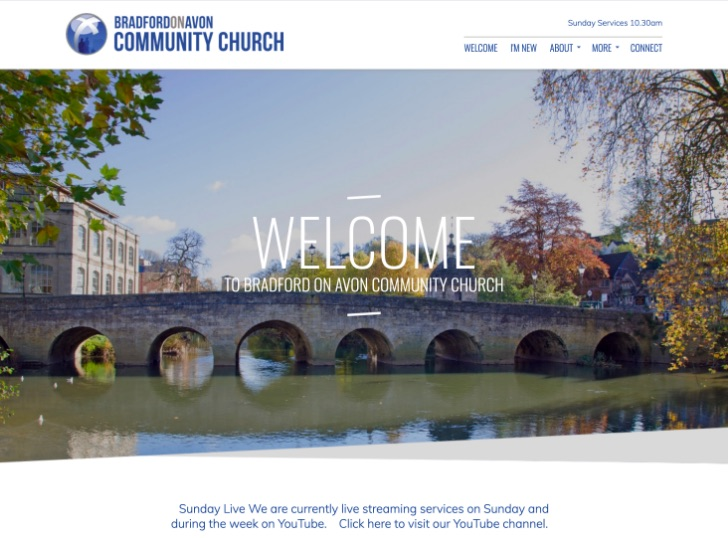 Bradford on Avon Community Church Website