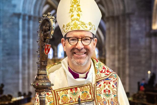 The Rt Revd Richard Jackson will deliver his second Easter sermon at Hereford Cathedral on Sunday 4 April