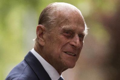 Statement of the announcement of the death of the Duke of Edinburgh