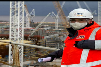 Open Chaplain at Europe's biggest building site