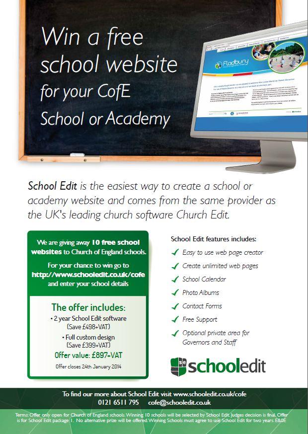 School Edit websites